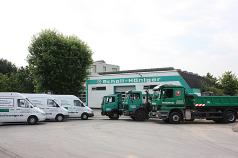 Firmengelände Gartenbau und Landschaftsbau in Monheim