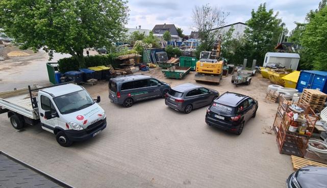 Firmengelände Kanalbau Düsseldorf