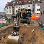 Erdbau Kanalsanierung bei Leverkusen